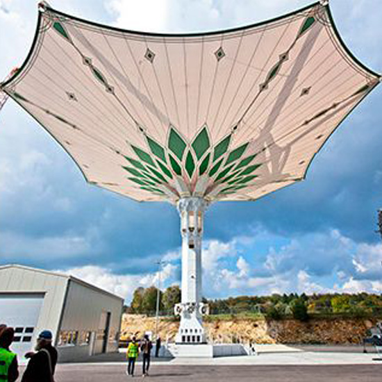 tenda membrane payung